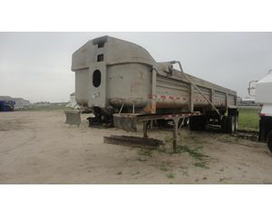 Clement 34 Yd Frameless End Dump Trailer End Dump Semi Trailer