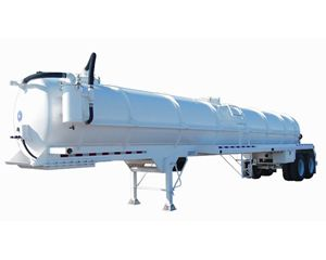Dragon 130BBL Vacuum Trailer Spring Ride Vacuum Tank Trailer