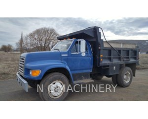 Ford F800 DUMP & TRAILER Day Cab Truck