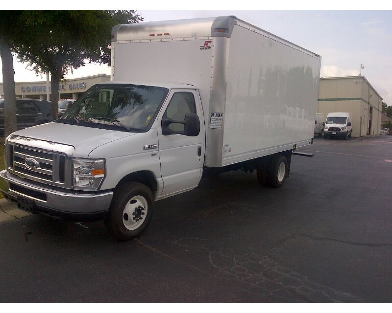 2014 ford e 350 box truck dry van for sale fort worth tx. Black Bedroom Furniture Sets. Home Design Ideas