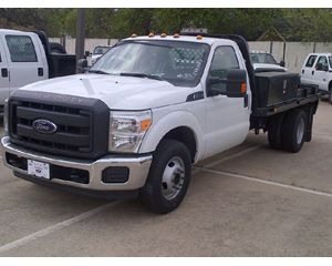 Ford FORD F350 GOOSENECK Flatbed Truck