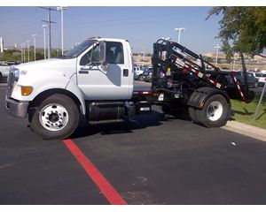 FORD F650 F650 CONTAINER DELIVERY Garbage Truck