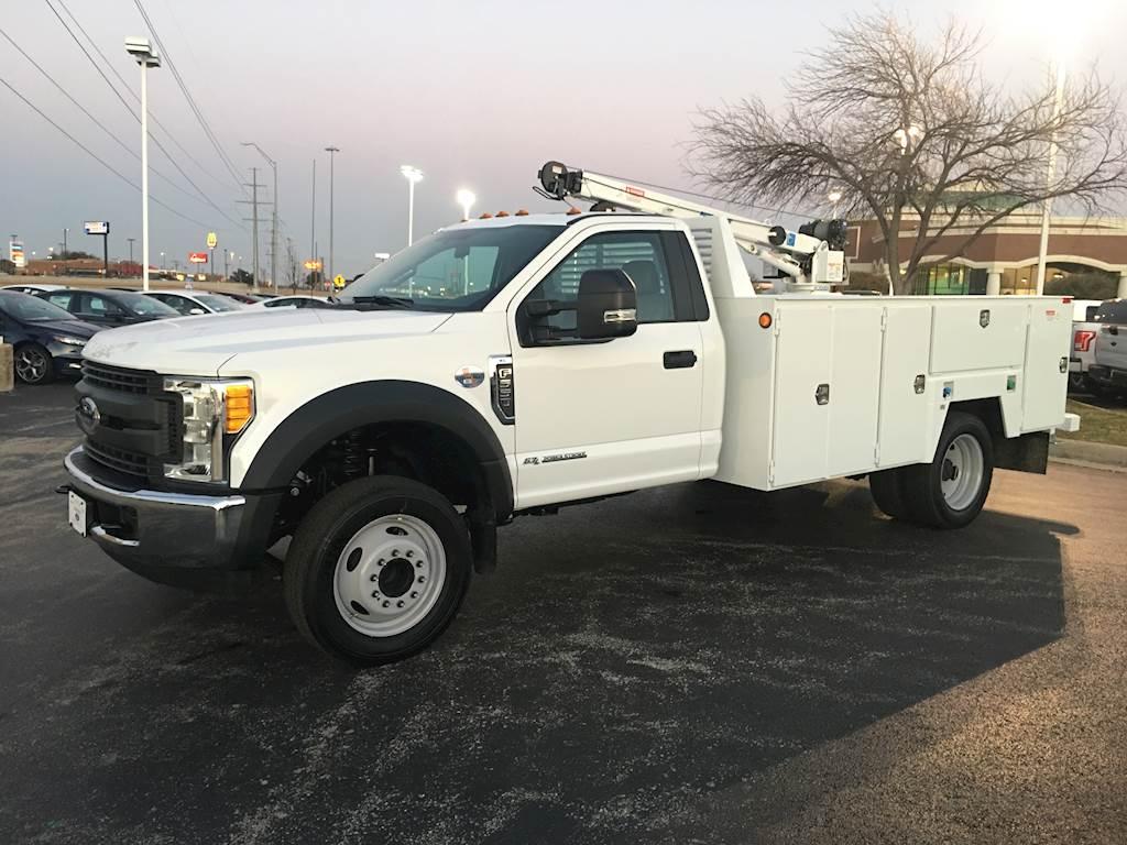 2017 Ford F 550 Xl Mechanics Service Utility Truck And Autocrane Crane