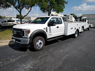 f4d9466447 2019 Ford F-550 XL 4x4 Ext. Cab with Palfinger PalPro 39 For Sale