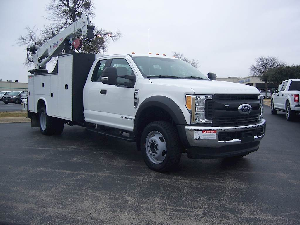 2019 Ford F-550 XL Mechanic / Service Truck with Knapheide KMT1 Mechanic  Body For Sale, 1 Hours | Fort Worth, TX | FRESH UNITS HAVE ARRIVED 30'  CRANE