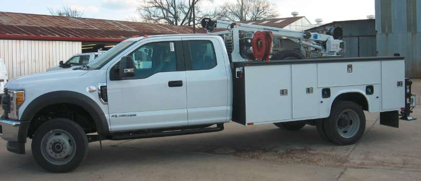 2017 ford f450 super duty xl 4x4 mechanics truck with crane for sale 260 miles fort worth tx. Black Bedroom Furniture Sets. Home Design Ideas