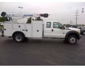 Ford F550 EXT. CAB 4x4 Mechanic Truck