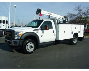Ford F550 4X4 CRANE Mechanic Truck
