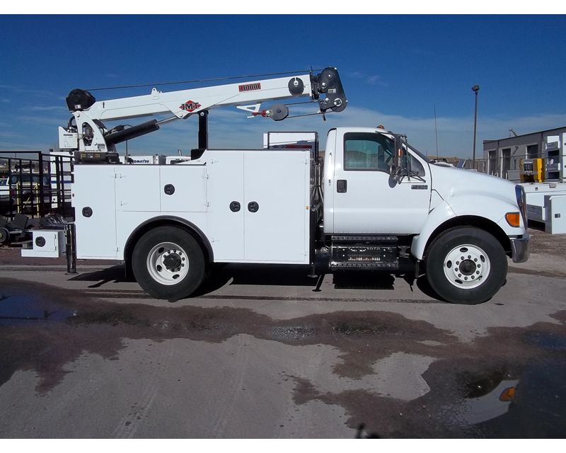 Mechanics Trucks Ford FORD F750 IMT CRANE TRUCK 2133164