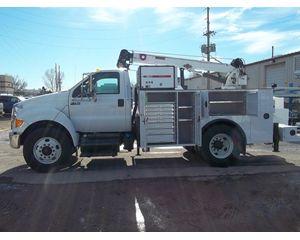 Ford F750 IMT CRANE Mechanic Truck