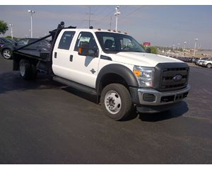 Ford F-550 4x4 Crew Cab Gin Pole Roustabout