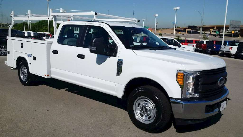 2017 ford f 250 xl crew cab service truck for sale 27 miles fort worth tx hec16996. Black Bedroom Furniture Sets. Home Design Ideas