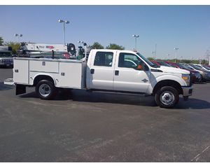 Ford F350 CREW CAB 4X4 Service / Utility Truck