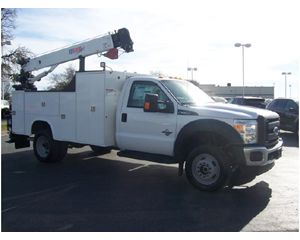 Ford F550 4X4 CRANE Service / Utility Truck