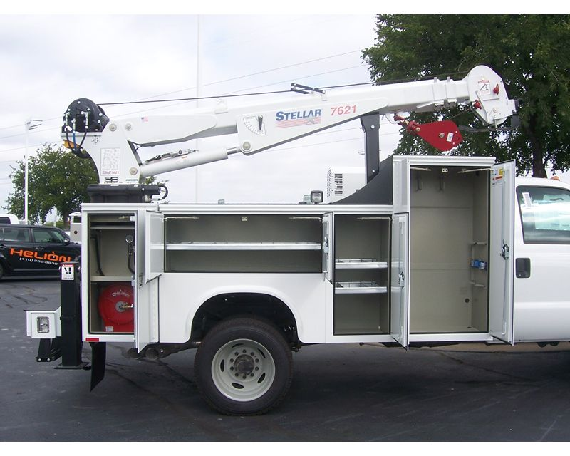 2015 Ford F550 Crane Service Utility Truck For Sale