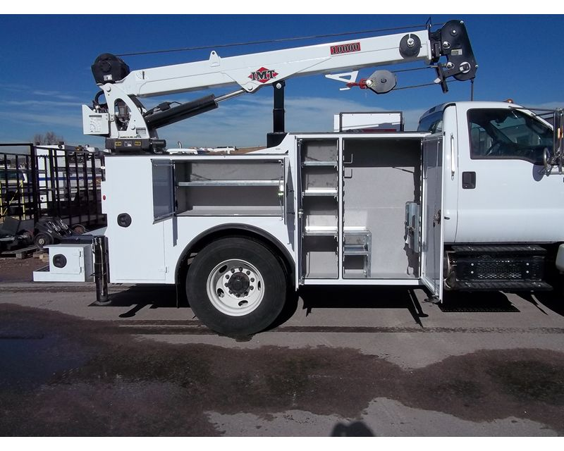 Imt Service Truck Bumper Step : Ford f service utility truck for sale fort
