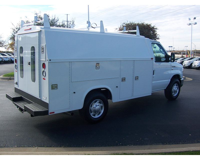 2014 Ford E350 Kuv Service Van For Sale Fort Worth Tx