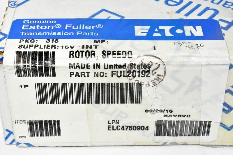 NEW Eaton Fuller Speed Rotor Gear FUL20192