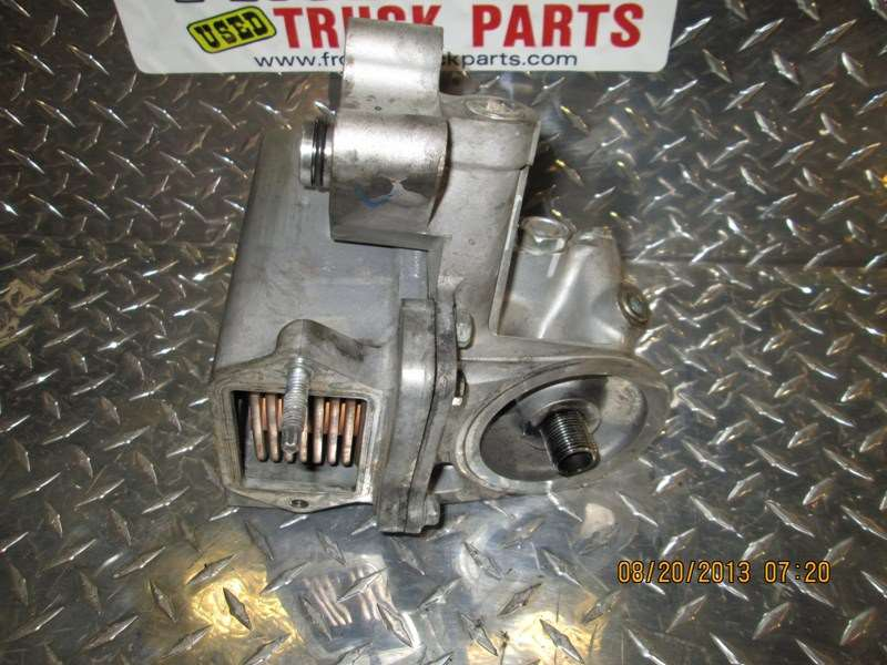 Used Gmc 6 6l Duramax Oil Cooler  Filter Base For Sale