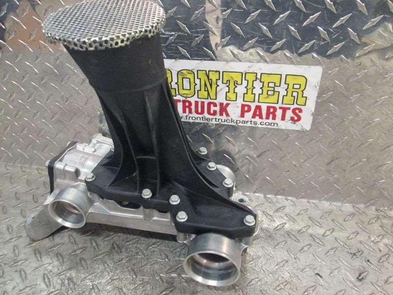 Used Detroit Diesel DD15 Oil Pump Intake Manifold