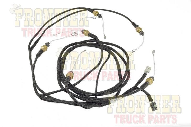 genuine detroit diesel wiring harness 12v4000 r b 0005300734 free rh mylittlesalesman com standalone duramax diesel wiring harness 6.5 diesel wiring harness