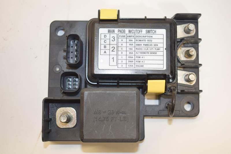 fuse distribution box main switch nto freightliner power net distribution box for sale dorr  mi  nto freightliner power net distribution