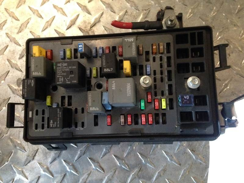 2013 Used Mack Pinnacle Fuse Panel For Sale