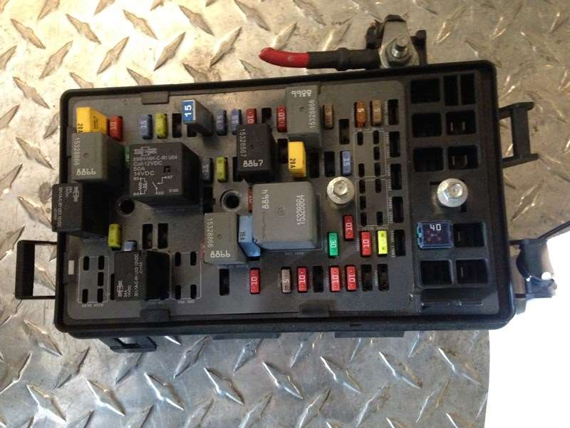 Fuse Boxes Panels Mack Pinnacle 9491573 tahoe melted fuse box 2016 wiring diagrams collection  at gsmx.co