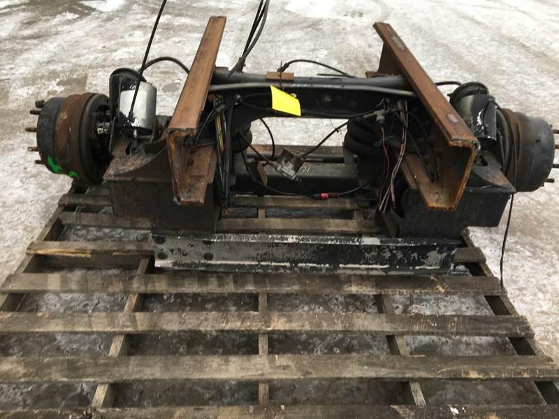 Tag Pusher Axles Hendrickson 12488792 used hendrickson steerable tag axle for sale dorr, mi 311 10124