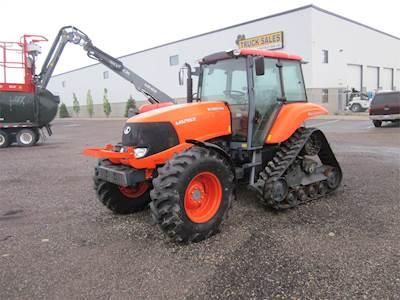 2010 Kubota M126X Tractor