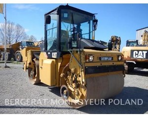 Caterpillar CD54 Smooth Drum Compactor