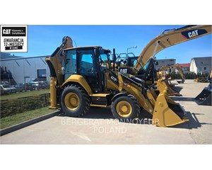 Caterpillar 427F2 Wheeled Excavator