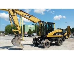 Caterpillar M313C Wheeled Excavator