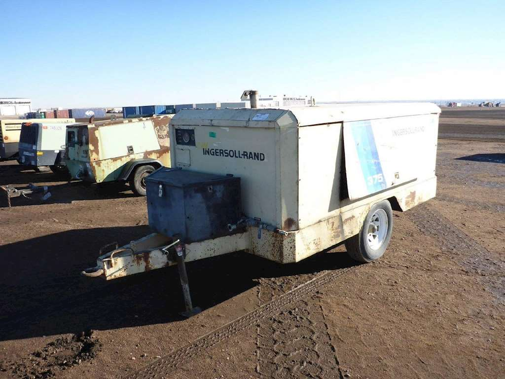 1985 Ingersoll Rand 375 Cfm Air Compressor For Sale Las