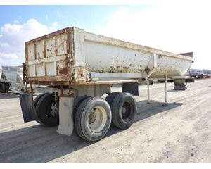Fruehauf End Dump Semi Trailer
