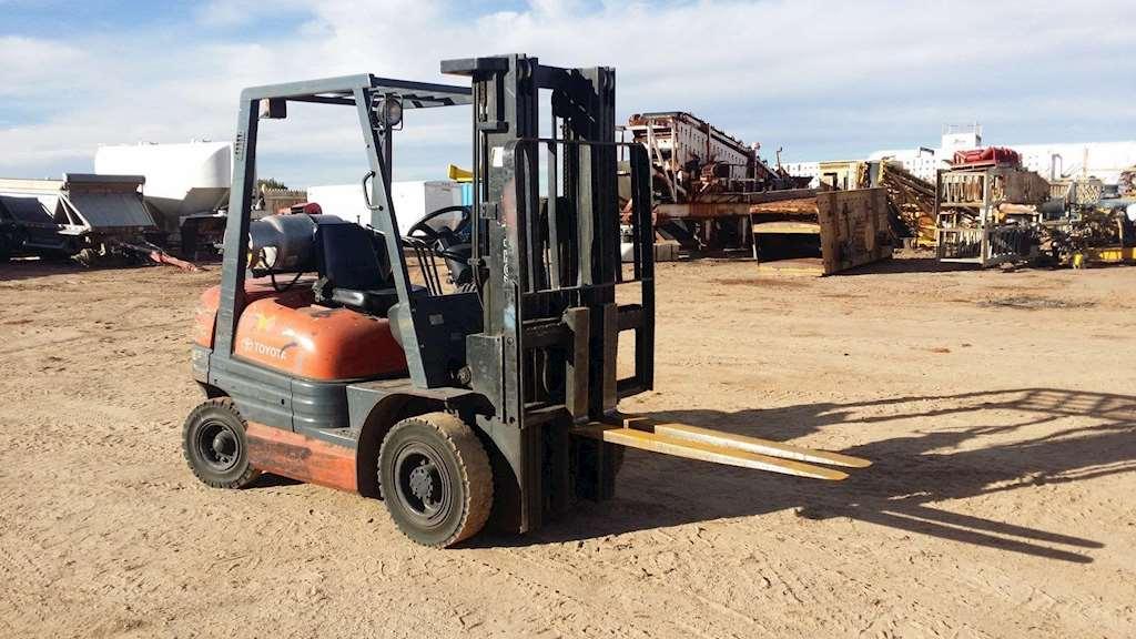 Forklift Mast Interlocking : Toyota fgu mast forklift for sale las vegas nv