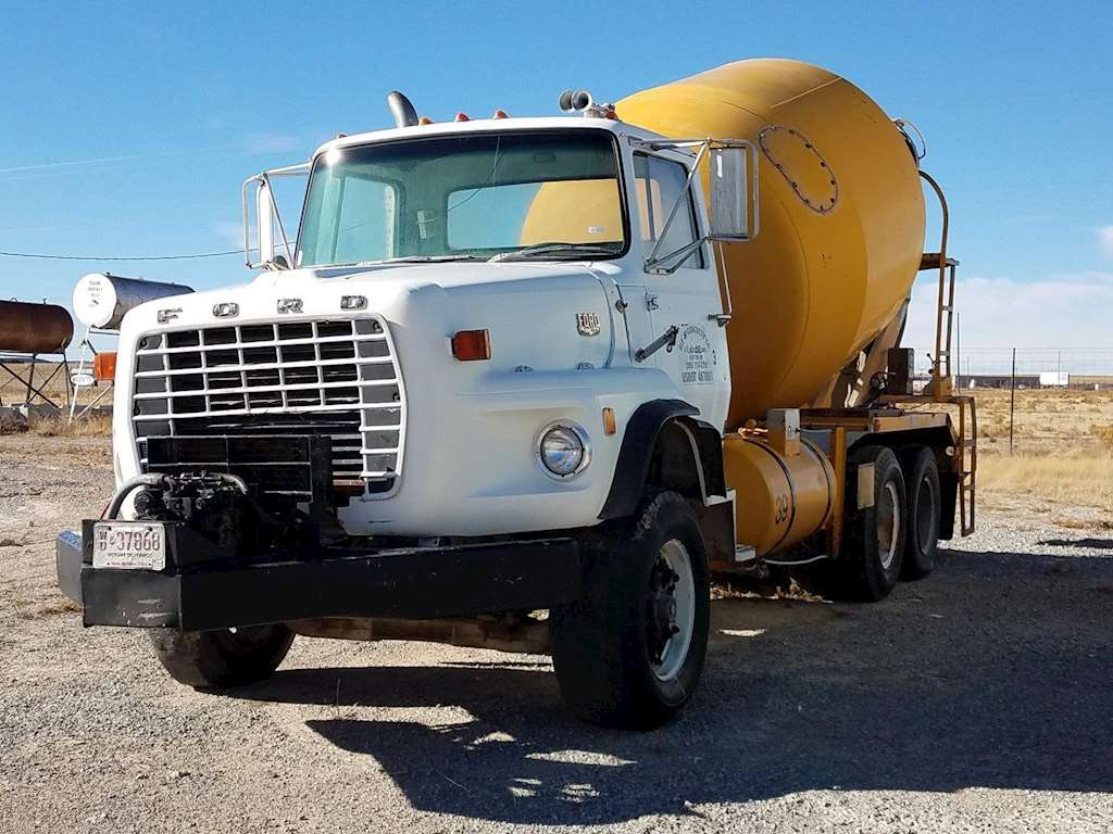 Ready Mix Concrete Trucks : Ford l mixer ready mix concrete truck for