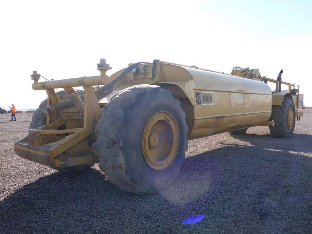 1963 Caterpillar 631b Water Wagon For Sale 1 398 Hours