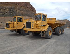 Caterpillar D400D Articulated Off-highway Truck