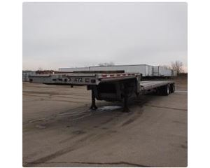 Ravens 48 Ft X 102 In. T/A Aluminum Spread Flatbed Trailer