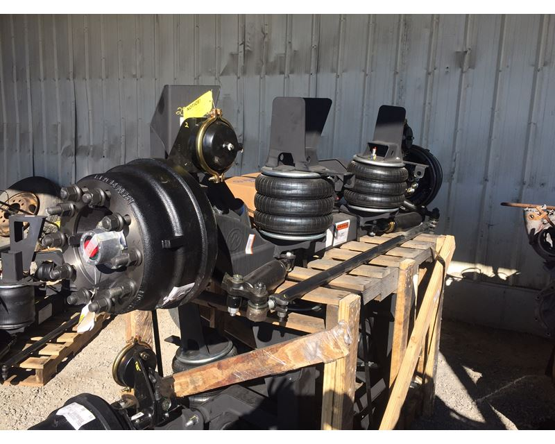 With Drop Axle Semi : Ridewell lift axle drop for sale tremonton ut