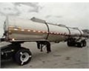 Polar 7500 GAL., 3 COMPT., 2-AXLE STAINLESS INSULATED SEMI TANK Chemical / Acid Tank Trailer