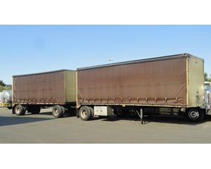 Reliance Curtain Side Trailer