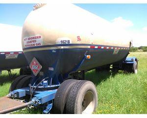 Lubbock Gasoline / Fuel Tank Trailer