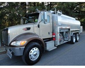 Peterbilt 340 Gasoline / Fuel Truck