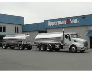Peterbilt 579 Gasoline / Fuel Truck