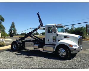 Peterbilt 337 Hooklift Truck