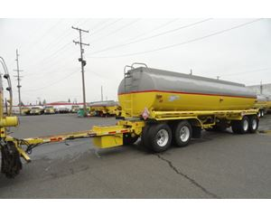 Beall 7400 GAL., 3 COMPT., 4-AXLE PULL TANK Non Code Tank Trailer