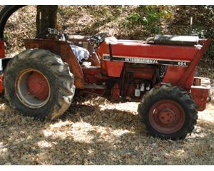 International 684 Tractors - 40 HP to 99 HP