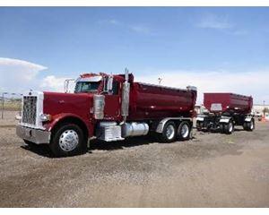 Peterbilt 379 Transfer Dump Truck